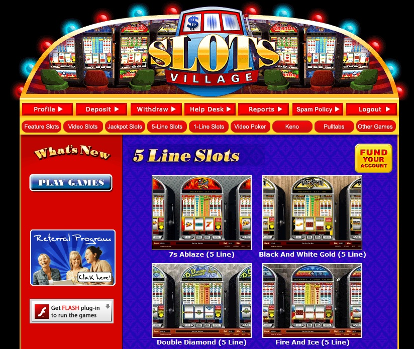 Slots Village Casino Review – SlotsVillage.ag Online Casino